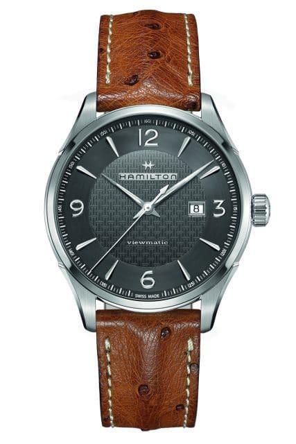 Platz 5 der meistgesuchten Uhren unter 1.000 Euro: Hamilton Jazzmaster Viewmatic