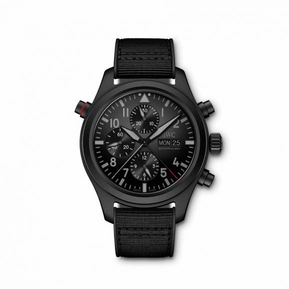 IWC Pilot's Watch Double Chronograph Top Gun Ceratanium