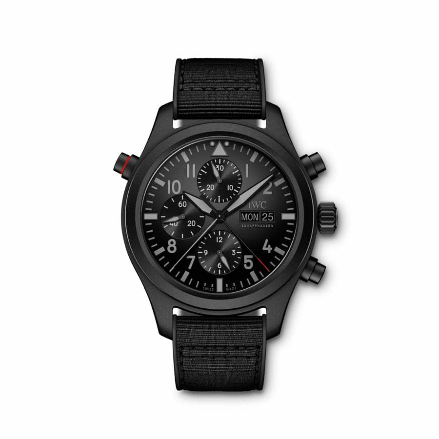 IWC Pilot's Watch Double Chronograph TOP GUN Ceratanium (IW371815)