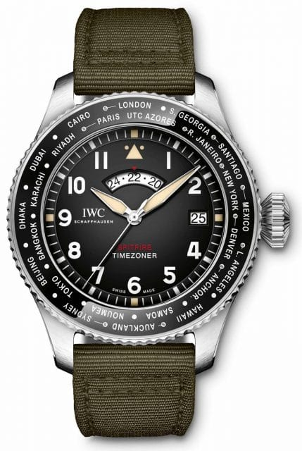 "IWC Pilot's Watch Timezoner Spitfire Edition ""The Longest Flight"", 13.800 Euro"