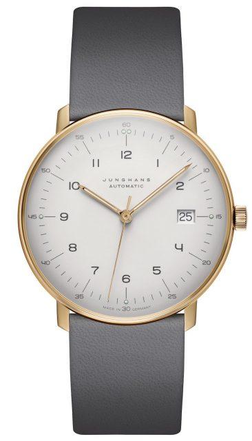 Platz 7 der 25 meistgesuchten Uhren unter 1.000 Euro: Junghans Max Bill Automatic