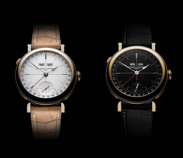 Laurent Ferrier Galet Annual Calendar School Piece in opalin und schwarz