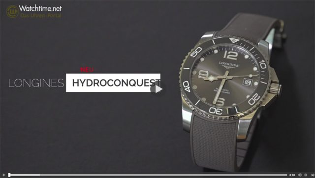 Longines HydroConquest mit Keramiklünette
