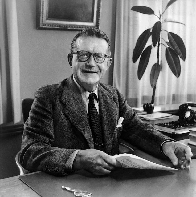 Mido Gründer Georges Schaeren