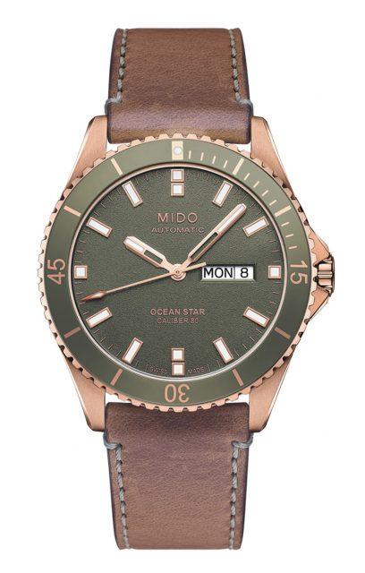 Platz 10 der meistgesuchten Uhren unter 1.000 Euro: Mido Ocean Star