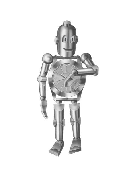 Der Mido-Roboter Robi