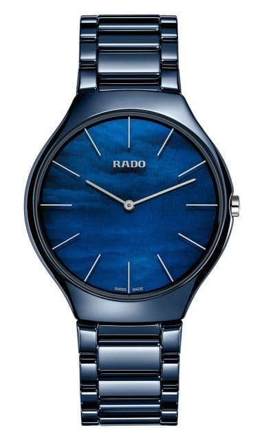 Rado: True Thinline Nature blau