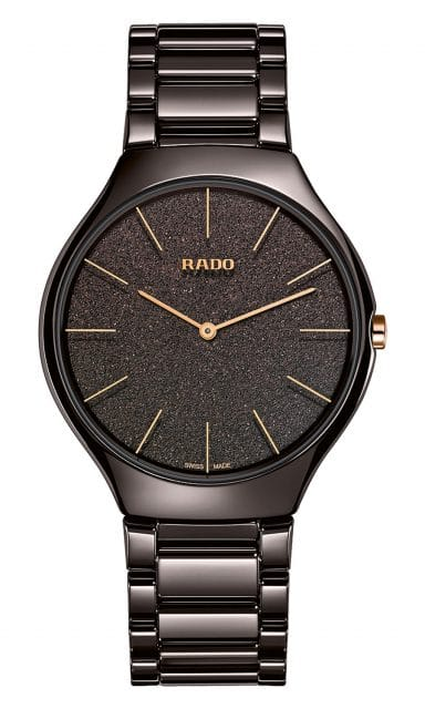 Rado: True Thinline Nature braun