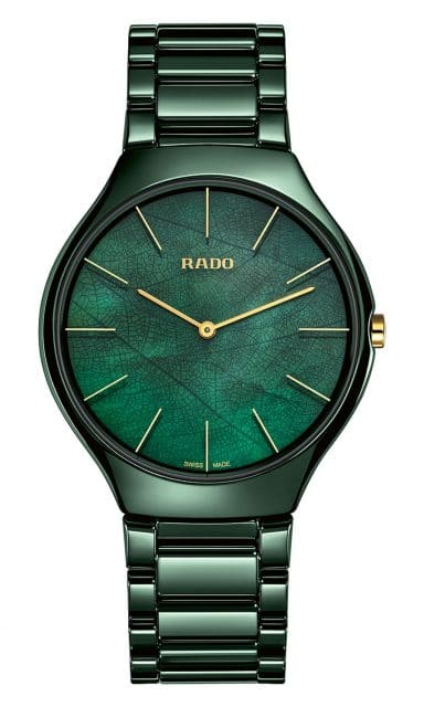 Rado: True Thinline Nature grün