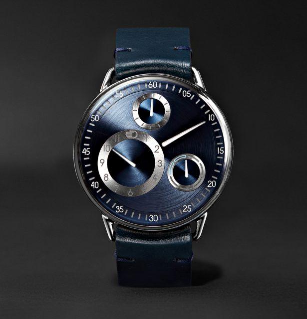 Ressence Type 1 MRP. Die belgische Luxusuhrenmarke gehörte zu den ersten, die mit Mr Porter kooperierten.