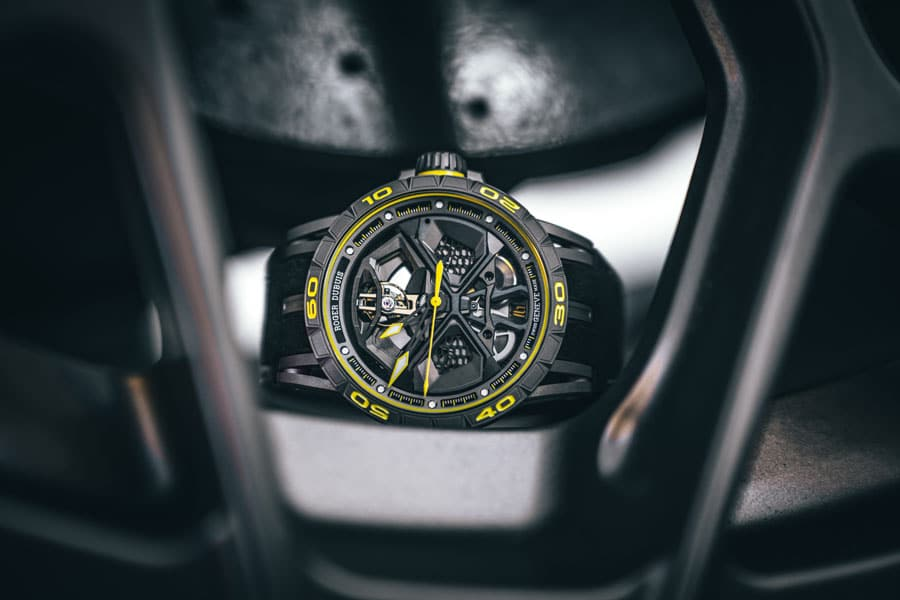 Roger Dubuis: Excalibur Huracán Performante