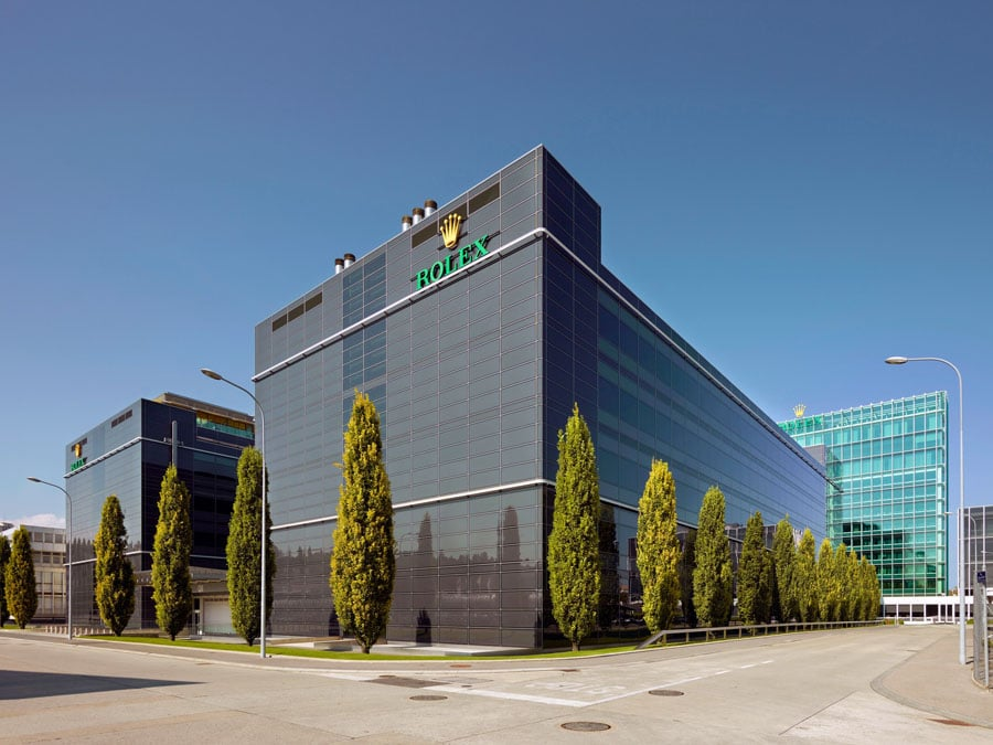 Rolex: Die Firmenzentrale in Genf
