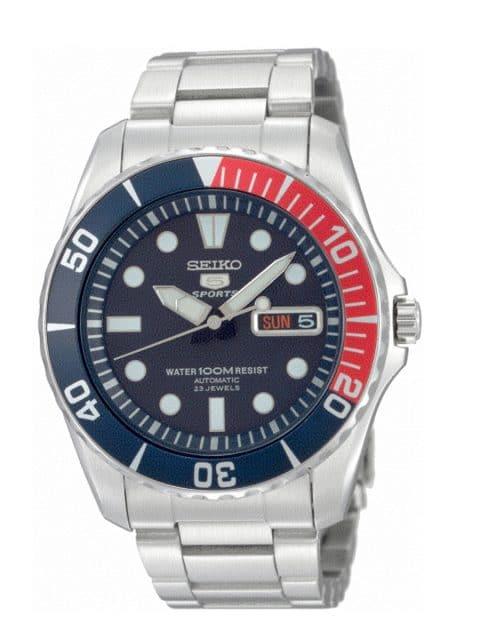Platz 3 der 25 meistgesuchten Uhren unter 1.000 Euro: Seiko 5 Sports