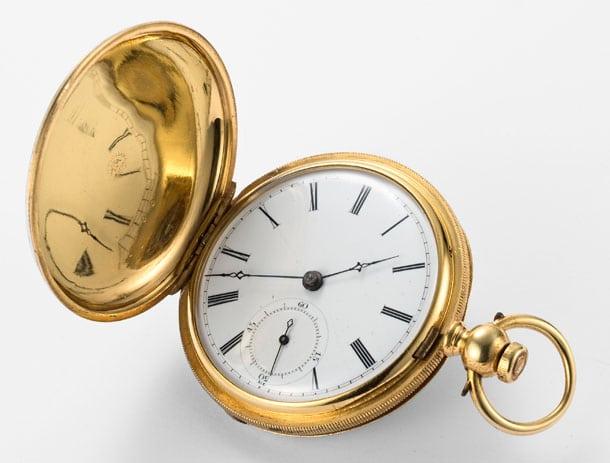 Gewinner aus einem früheren Wettbewerb: Diese Taschenuhr von 1867 wurde 2010 als ältester Longines-Zeitmesser Japans ermittelt