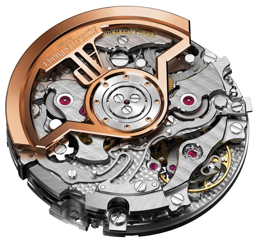 Das neue, voll integrierte Manufaktur-Chronographenkaliber 4401