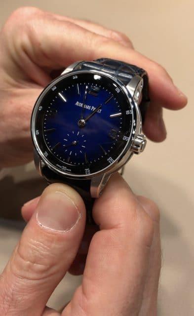 Live-Bild vom Genfer Uhrensalon SIHH 2019: Audemars Piguet Code 11.59 Minutenrepetition Supersonnerie