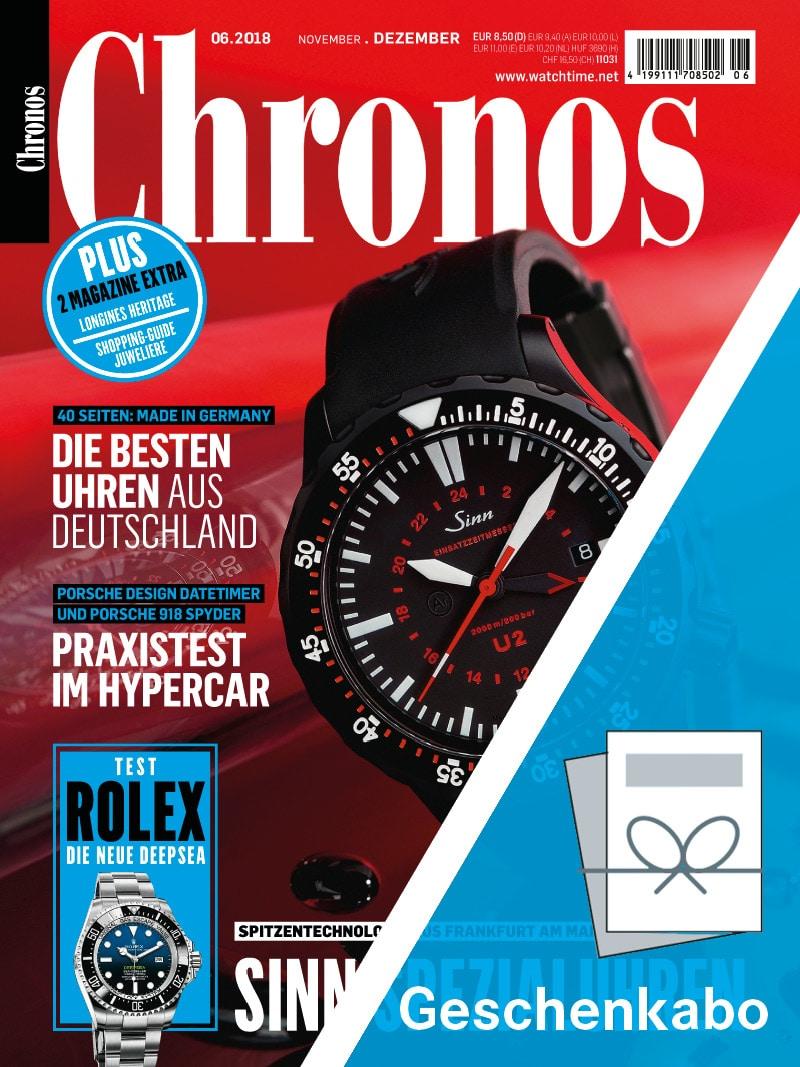 Produkt: Chronos Geschenkabonnement Print