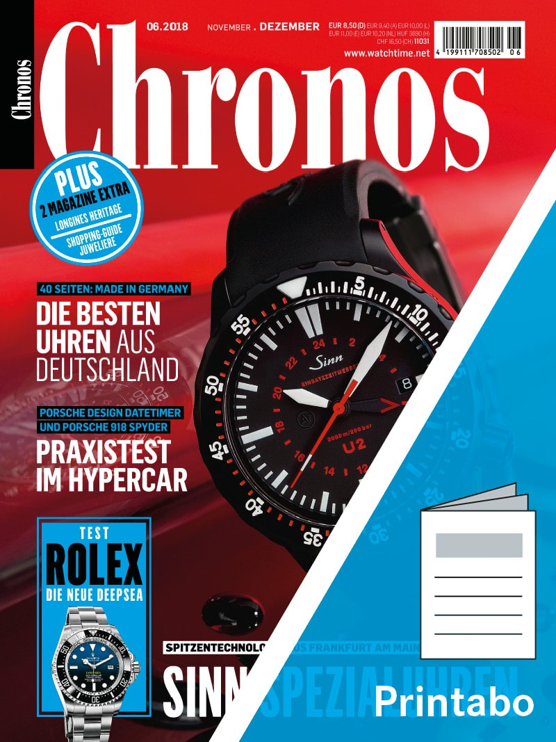 Produkt: Chronos Jahresabonnement Print