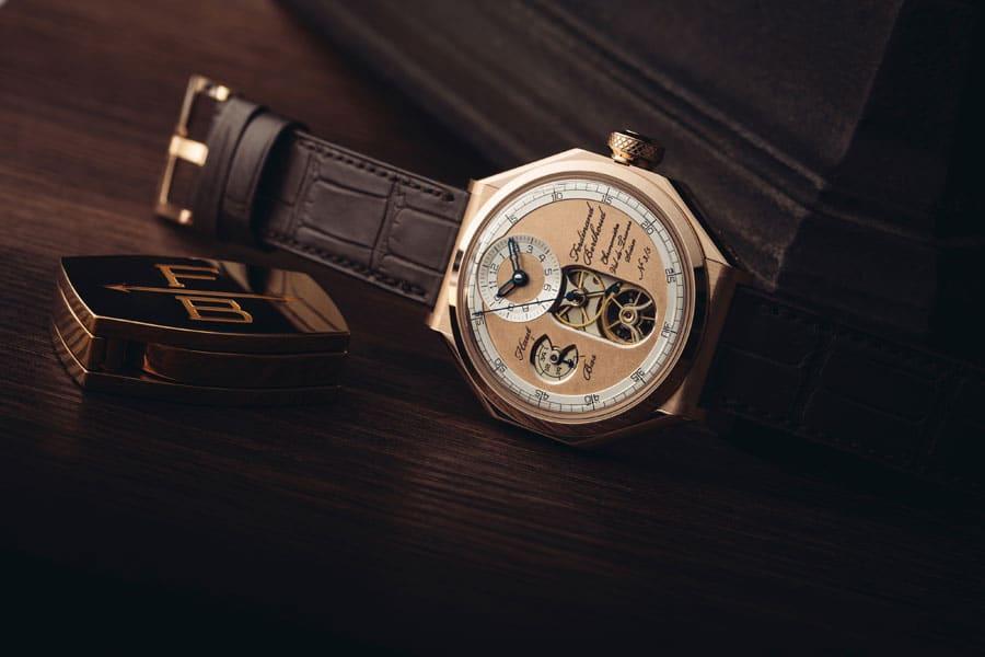 Ferdinand Berthoud: Chronometer FB 1 Œuvre d'Or in Roségold