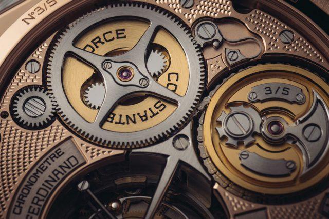 Manufakturkaliber FB-T.FC-3 der Ferdinand Berthoud Chronometer FB 1 Œuvre d'Or