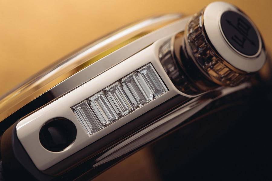 Ferdinand Berthoud: Chronometer FB 1 Œuvre d'Or in Weißgold mit Diamanten