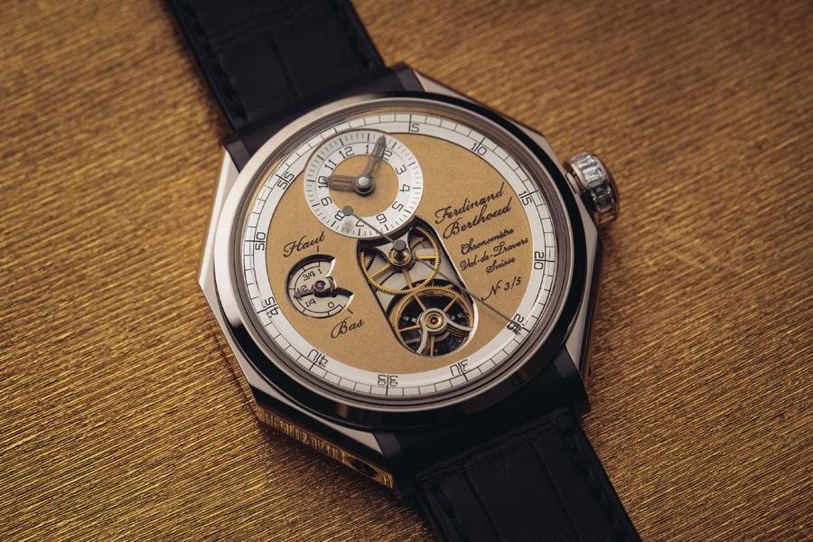 Ferdinand Berthoud: Chronometer FB 1 Œuvre d'Or in Weißgold