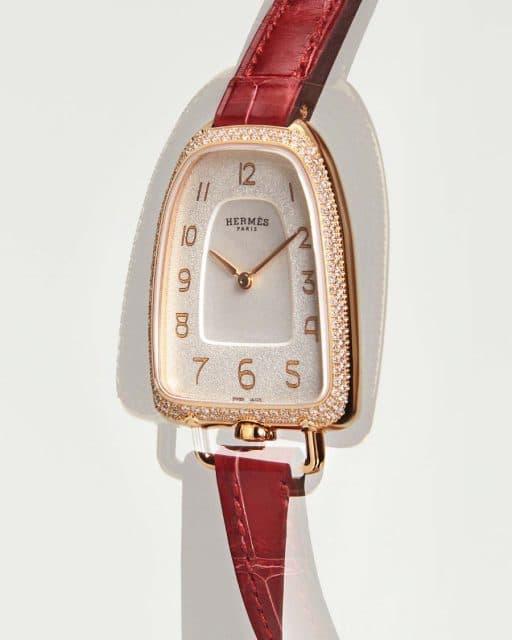 Von Steigbügeln inspiriert: die Galop d'Hermès.