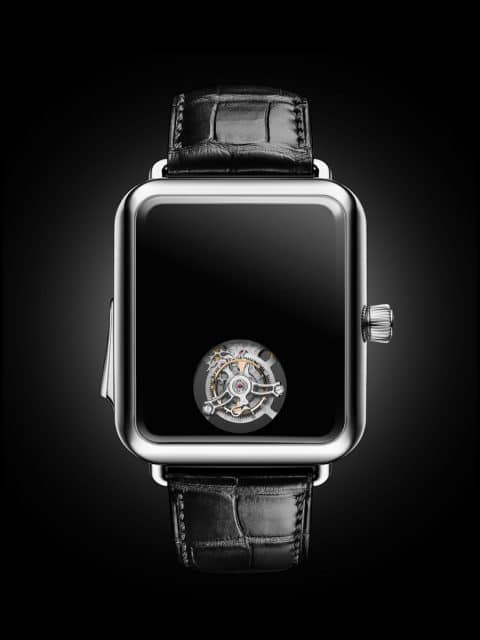 H. Moser & Cie.: Swiss Alp Watch Concept Black
