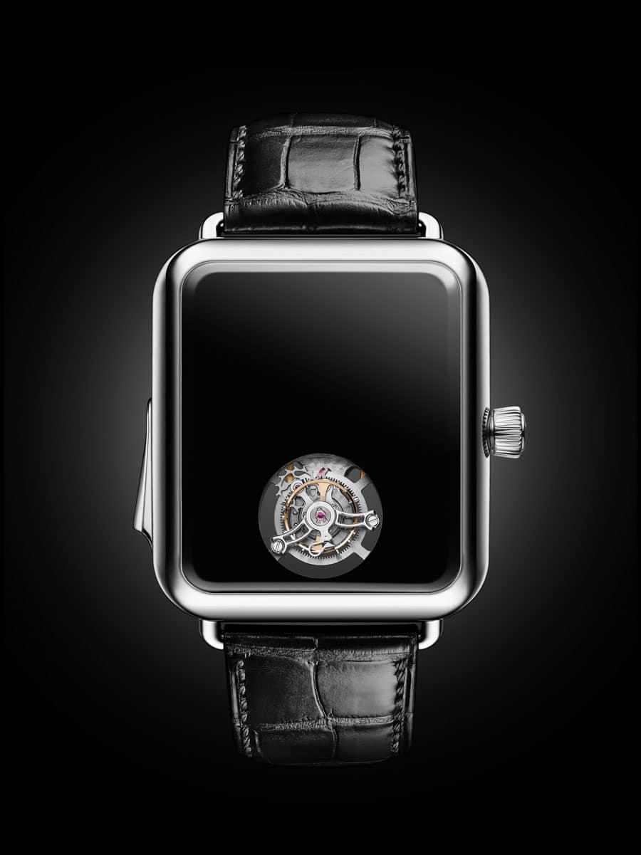 H. Moser & Cie.: Swiss Alp Watch Concept Black