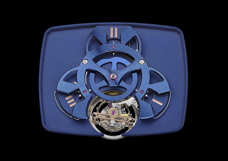Uhrwerk HTL 405 der Hautlence Vagabonde Tourbillon