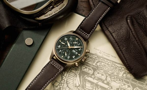 IWC: Pilot's Watch Chronograph Spitfire