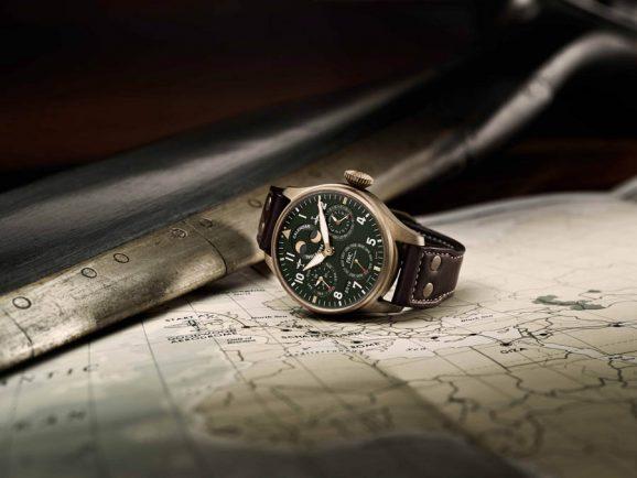 IWC: Pilot's Watch Perpetual Calender Spitfire