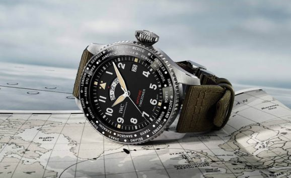 IWC: Pilot's Watch Timezoner Edition Longest Flight Spitfire