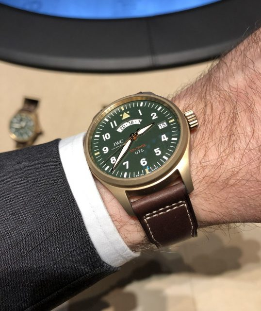"Wristshot: IWC Pilot's Watch UTC Spitfire Edition ""MJ271"""