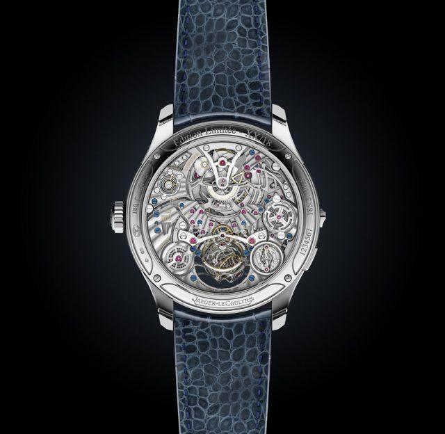 Jaeger-LeCoultre: Master Grande Tradition Gyrotourbillon Westminster Perpétuel Rückseite