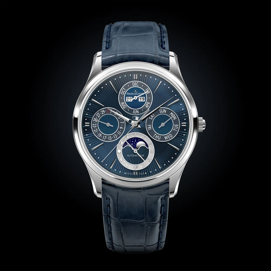 Jaeger-LeCoultre: Master Ultra Thin Perpetual Enamel