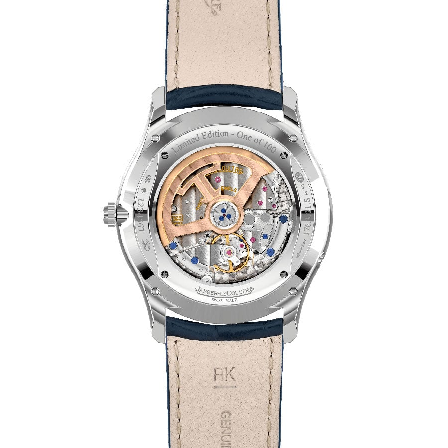 Jaeger-LeCoultre: Master Ultra Thin Perpetual Enamel mit Kaliber 868A/2