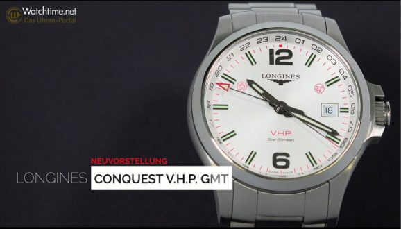 Longines: Conquest V.H.P. GMT im Video