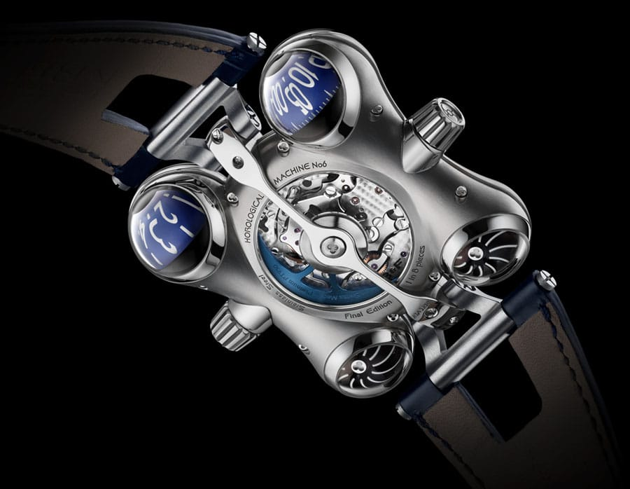 MB&F: Horological Machine N°6 Final Edition, Uhrwerk