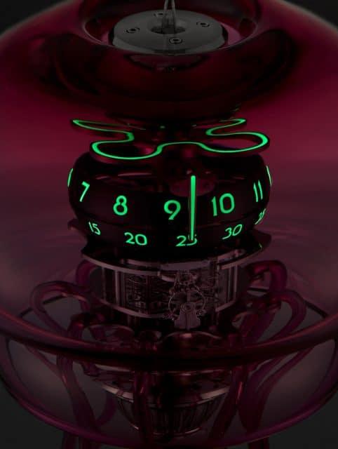 MB&F: Medusa bei Nacht