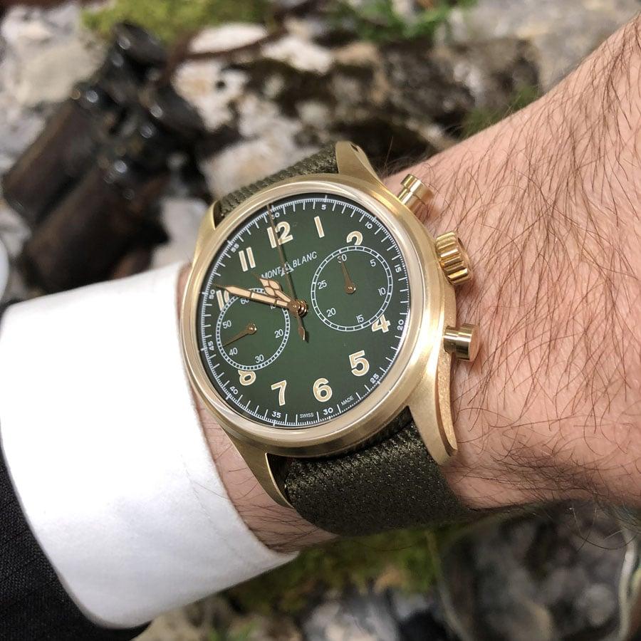 Montblanc: 1858 Automatic Chronograph Wristshot
