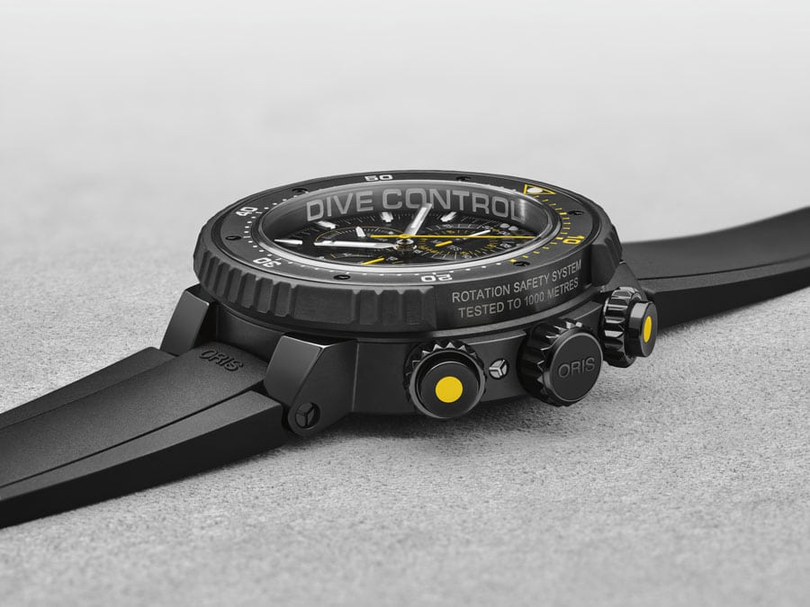 Oris: Dive Control Limited Edition, Rotation Safety System