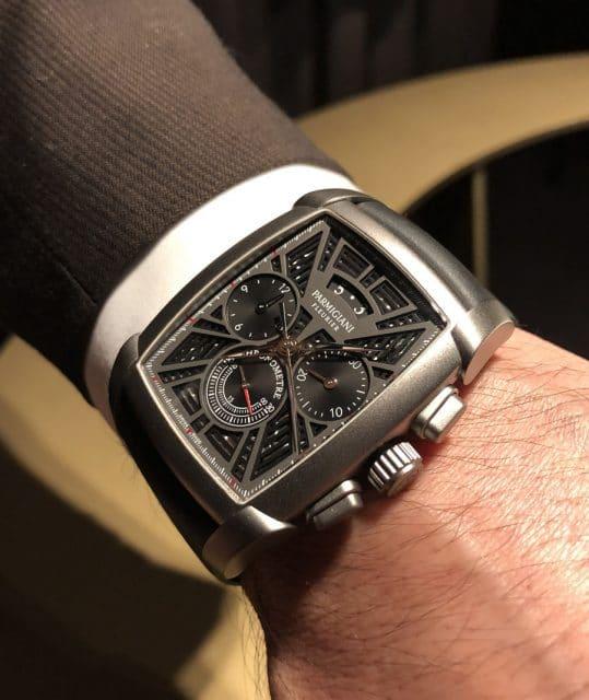 Wirstshot der Parmigiani Kalpagraphe Chronomètre Titanium