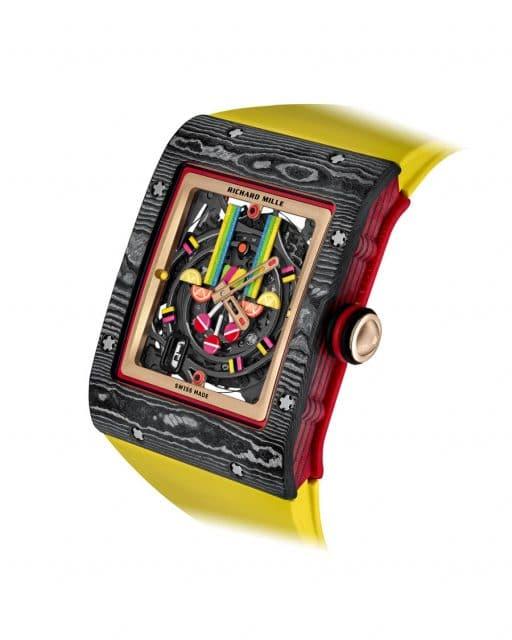 Richard Mille Bonbon-Kollektion RM16-01 Fraise