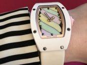 Wristshot der Richard Mille Bonbon RM 07-03 Automatic Marshmallow