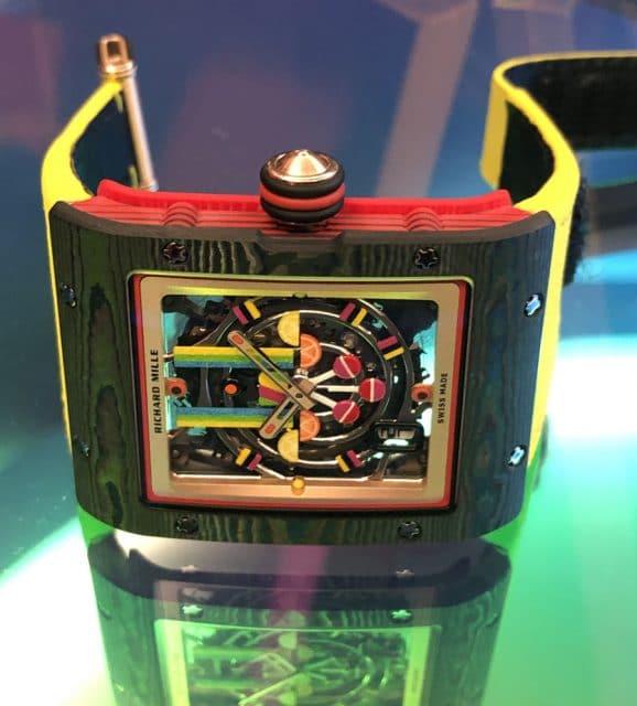 Live: Richard Mille Bonbon RM 16-01 Automatic Fraise