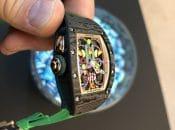Live-Bild der Richard Mille Bonbon RM 37-01 Automatic Kiwi