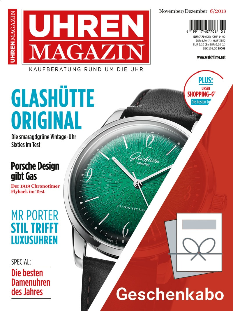 Produkt: UHREN-MAGAZIN Geschenkabo
