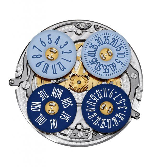 Vacheron Constantin: Kaliber 2460 G4 mit blauen Scheiben