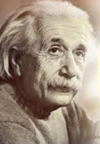 Besonderes Verhältnis zur Zeit: Albert Einstein